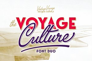 The Voyage Culture • Font Duo