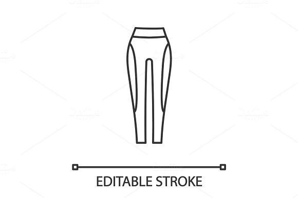 Women's Sports Pants Linear Icon