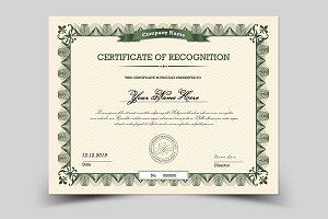 Multipurpose Certificate - V05