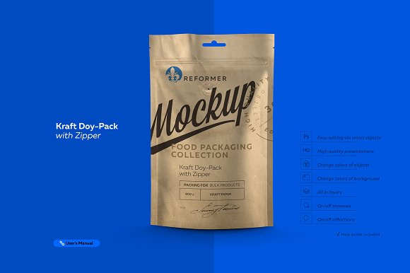 Download Kraft Doy-Pack with Zipper