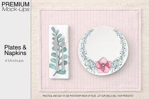 Plates & Napkins Set