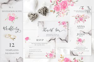 Wedding Romance: Invitation Suite