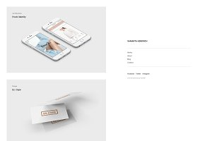 Samanta Minimal WordPress Theme