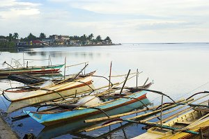 Philippines fisherman's village