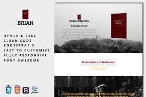 Brian - E-Book Landing Page