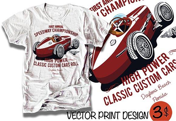 Vector RACE CAR