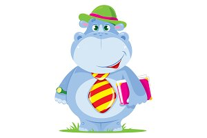 Hippo manager (worker). Vector.
