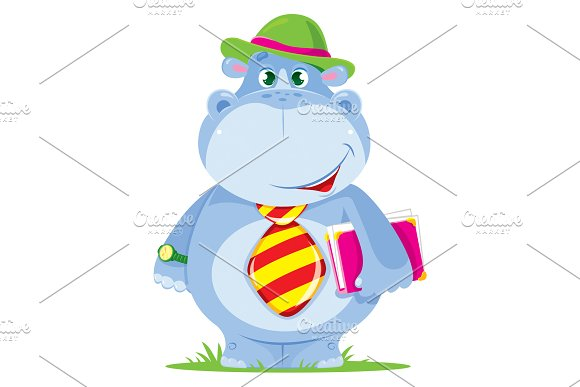 Hippo Manager Vector