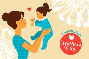 4 Mother's Day Cards