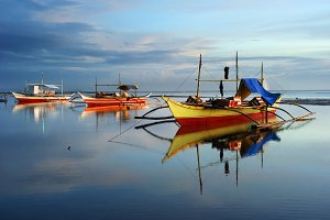 Traditional Philippines Boats