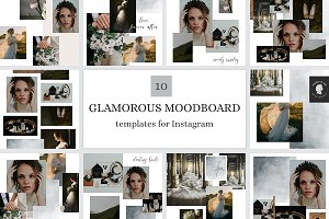 Instagram Post Templates-Mood Boards