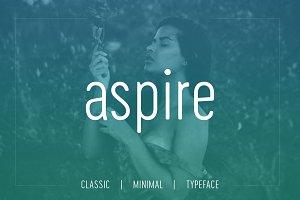 Aspire Sans - Modern Typeface + WebF