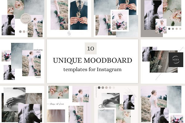 Download Mood Board Template Bundle Vol 1 Creative Market