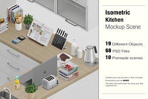 Kitchen Scene Creator Mock-up