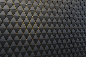 Abstract background of polygonal shape
