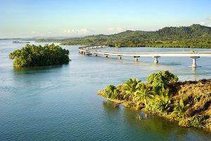 The San Juanico Bridge, Philippines
