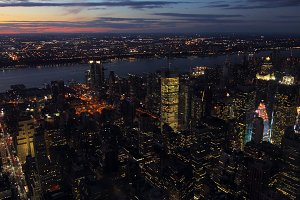 New York at night
