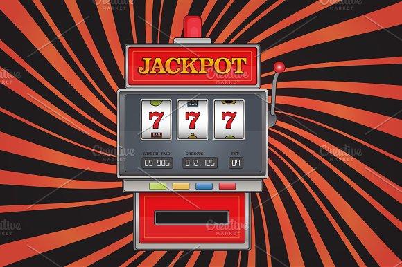 Red Slot Machine Jackpot