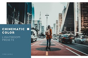 Cinematic Color Lightroom presets