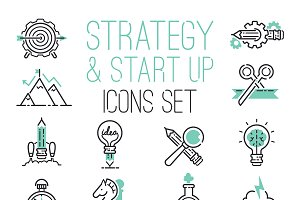 Startup strategy outline web busines