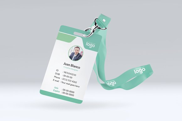 ID Card in Stationery Templates - product preview 2