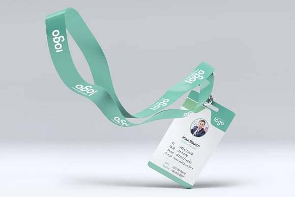 ID Card in Stationery Templates - product preview 4