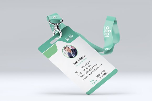 ID Card in Stationery Templates - product preview 6