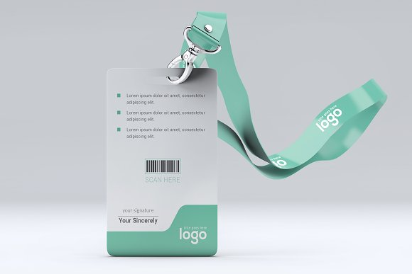 ID Card in Stationery Templates - product preview 1