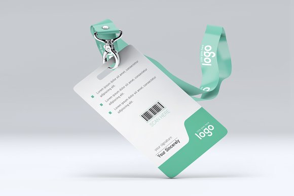 ID Card in Stationery Templates - product preview 7