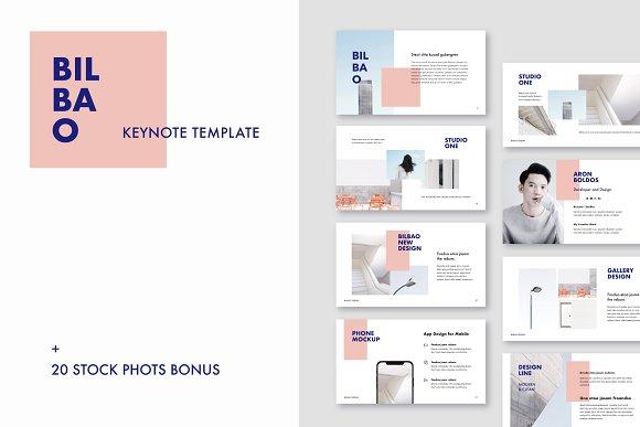 Bilbao Keynote Template Bonus