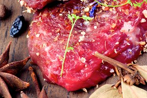 Marinated Raw Beef