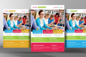 School/Education And Corporate Flyer