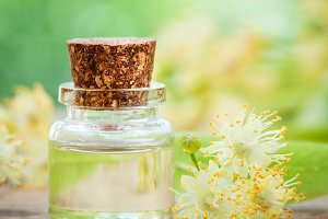 Essential oil of linden tree flowers