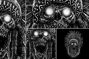Tribe Skull