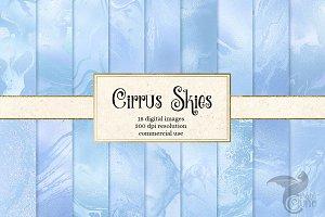 Cirrus Skies sky blue textures
