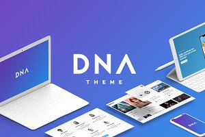 DNA - Multipurpose Wordpress Theme