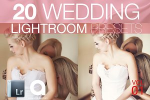 Wedding Lightroom Presets Vol 1
