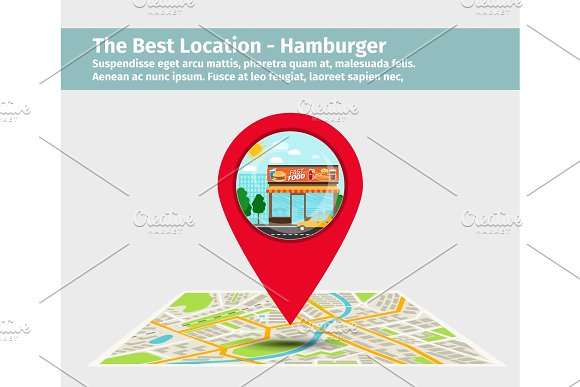 The Best Location Hamburger