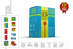 11 psd- Boxes Mock Up