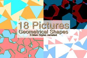 18 Geometrical Shapes