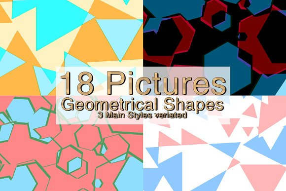 18 Geometrical Shapes