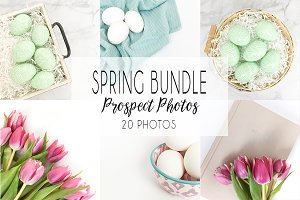 Simple Spring Stock Photo Bundle