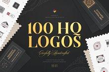 100 HQ Logos