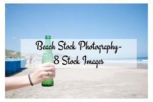 Beach Stock Photo - 8 Count Bundle
