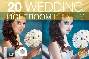 Wedding Lightroom Presets Vol 2