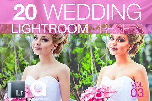 Wedding Lightroom Presets Vol 3