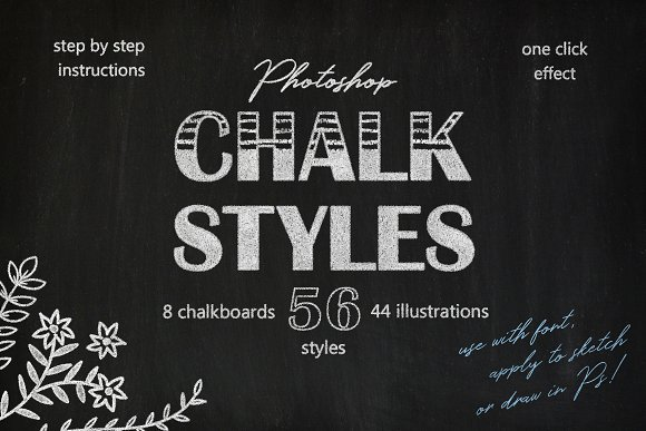 Chalk Styles For Photoshop