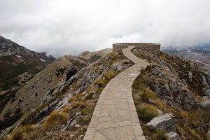 mountain Lovcen in Montenegro