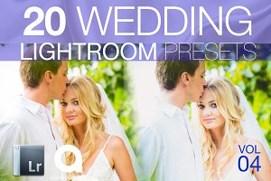 Wedding Lightroom Presets Vol 4