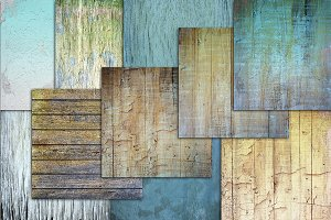 Shabby chic background textures